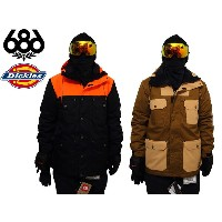 【SALE 20%OFF】686 SIX EIGHT SIX SMARTY DICKIES ディッキーズ スノーウエア ジャケット Dickies Foundation Insulated...