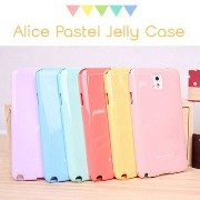 【 GALAXY NOTE2 SC-02E ケース カバー 】 液晶保護 フィルム 付き Alice Jelly Galaxy Note2 SC-02E ギャラクシーノート2 ギャ...