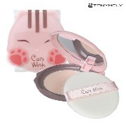 TONYMOLY トニーモリー キャッツ・ウインク・クリア・パクト #2 クリアーベージュー 11g (Cats Wink Clear Pact - #2 Clear Beige...