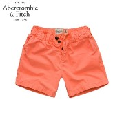【25%OFFセール 4/1 20:00〜4/6 1:59】 アバクロ Abercrombie&Fitch 正規品 メンズ ショートパンツ A&F Campus Fit Shorts 128-283...
