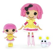 ララループシー ソフトドール 人形 Lalaloopsy Mini Littles Doll, Crumbs Sugar Cookie/Sprinkle Spice Cookie