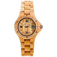 テンス 時計 腕時計 木製 Tense Light Wood Round Multi Eye Hypoallergenic Watch G4100M