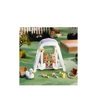 シルバニアファミリー 人形 Calico Critters Peaches and Freddy's Swing n Play