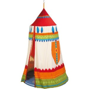 HABA ハバ社 おもちゃ 知育玩具 ハンギングテント ルーム American Indian Hanging tent