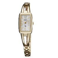 オリエント 時計 レディース 腕時計 ORIENT Lady Rose Elegant Bangle Solar WL0041WH Ladies Watch