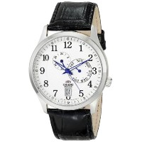 オリエント 時計 メンズ 腕時計 Orient Men's FET0K003W0 Cosmos Analog Display Japanese Automatic Black Watch