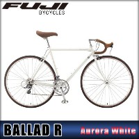フジ FUJI 正規販売店 自転車 BALLAD R (CROSS BIKE) AURORA WHITE