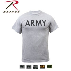 Rothco Military Physical Training T-Shirt(ロスコ ミリタリーTシャツ)6080他(5色)