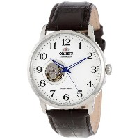 "オリエント 時計 メンズ 腕時計 Orient Men's FDB08005W ""Esteem"" Stainless Steel Watch with Brown Leather Band"