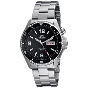 "オリエント 時計 メンズ 腕時計 Orient Men's CEM65001B ""Black Mako"" Automatic Dive Watch"