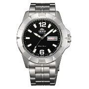 オリエント 時計 メンズ 腕時計 Orient Men's self-winding watch overseas model (black) SEM7L004B9
