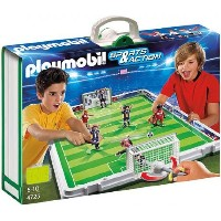 プレイモービル 4725 サッカーゲーム PLAYMOBIL Take Along Soccer Match Playset