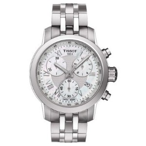 ティソ 腕時計 レディース 時計 Tissot PRC 200 Quartz Chronograph Lady Stainless Steel Women's watch #T055.217.11...