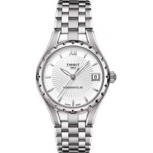 ティソ 腕時計 レディース 時計 Tissot T-Lady Powermatic Automatic Silver Dial Stainless Steel Ladies Watch...