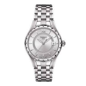 ティソ 腕時計 レディース 時計 Tissot T-Lady Silver Dial Stainless Steel Ladies Watch T0722101103800