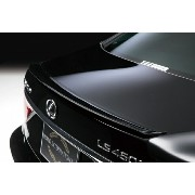 LEXUS LS460/h 600h/hL USF40/41 UVF45/46 M/C after Executive Line (H24.10〜 ) TRUNK SPOILER(ABS製) ブラック塗装済