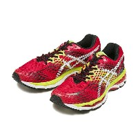 【ASICS】 アシックス GEL-NIMBUS 17 TJG706 15SS 2301 RED/WHT
