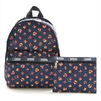 LeSportsac レスポートサック 7812-D542 Basic Backpack(ベーシックバックパック)Spring Dreamsリュックサック