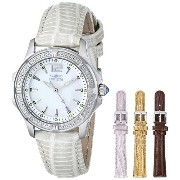 インヴィクタ インビクタ 腕時計 レディース 時計 Invicta Women's 11782 Wildflower Mother-Of-Pearl Dial Silver Tone Leather...