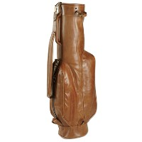 Linksoul All Leather Carry Golf Bags【ゴルフ バッグ>スタンドバッグ】