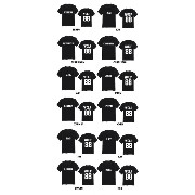 EXO (エクソ) WOLF 88 TEAM T-SHIRTS (チームTシャツ) (SUHO)