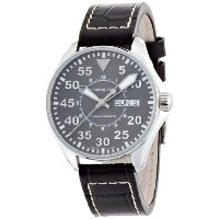 ハミルトン カーキ メンズ 腕時計 Hamilton Men's H64425585 Khaki King Grey Dial Watch