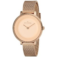 スカーゲン 腕時計 レディース 時計 Skagen Women's SKW2213 Ditte Quartz 2 Hand Stainless Steel Rose Gold Watch
