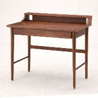 emo Writing Desk(ライティングデスク) EMT-2321BR(ブラウン) W 900×D 500×H 820mm(天板まで720mm) 【市場】【送料無料】