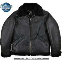 "BUZZ RICKSON'S/バズリクソンズ JACKET, FLYING, INTERMEDIATE Type BLACK B-6""William Gibson Collection"" ウィリアム..."