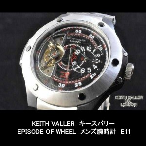 KEITH VALLERキースバリーEPISODE OF WHEEL メンズ腕時計E11 05P03Dec16