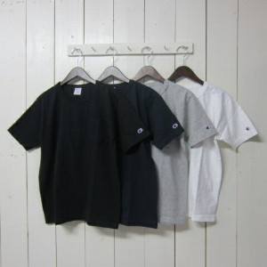 champion チャンピオン [us tee][c5-b303][ss][solid][pocket][4c]
