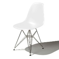 Eames Shell Chair イームズ チェア Side Chair(DSR) /ホワイト【smtb-ms】【RCP】.