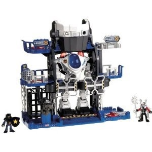 Fisher-Price Imaginext Robot Police Headquarters