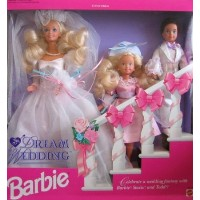 Barbie(バービー) Dream Wedding Gift Set (ギフトセット) w Barbie(バービー), Stacie & Todd Dolls (19
