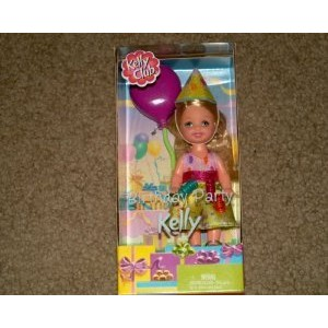 Barbie バービー Kelly Birthday Party Kelly Club 2002 Doll ドール 人形 おもちゃ