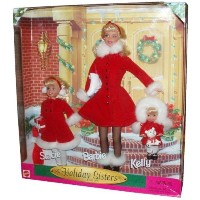 Holiday Sisters 1999 Barbie バービー, Kelly & Stacie Gift Set 人形 ドール