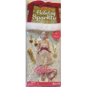 Holiday Sparkle Barbie バービー Doll Giftset Blonde Gold&red 人形 ドール