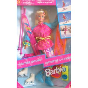 Winter Sport Barbie バービー Doll (1994) 人形 ドール