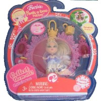 Barbie バービー Peek a Boo Petites Snowflake Flurries Holiday Princess #35 人形 ドール
