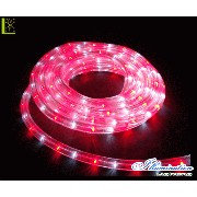 【LED】【チューブライト】【ロープライト】【CLED45WR】LEDルミネチューブ ホワイト・レッド【45M】ルミネチューブ 用途色々のチューブライトAOIデパートのLEDイルミネーション...