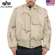 [MA-1] ALPHA INDUSTRIES アルファインダストリーズ MADE IN U.S.A MA-1 フライトジャケット 3COLOR DESERT ALPHA INDUSTRIES【MA...