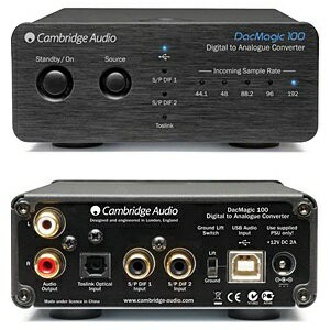 【送料無料】 CAMBRIDGEAUDIO USB-DAC(ブラック) DACMAGIC100BLK