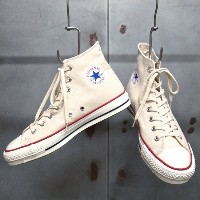【 CONVERSE / コンバース 】 CANVAS ALL STAR J HI [NATURAL WHITE] / キャンバス オールスター J HI CHUCK TAYLOR /...