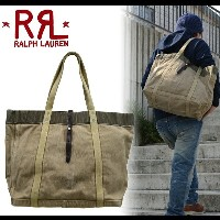 RRL by Ralph Lauren ラルフローレン ダブルアールエル VINTAGE CANVAS TOTE キャンバストートバッグ 鞄【RCP】