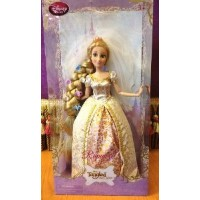 Disney (ディズニー)Exclusive Tangled Ever After 12 Inch Rapunzel Wedding Doll Flowers In Hair! ド