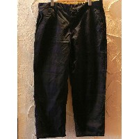 【SALE】 CORISCO/CHECK CROPPED PANTS BLACKWATCH