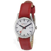 【Mondaine レディース 腕時計 A629.30341.11SBC.XL Retro Ladies Date Leather Band Watch】
