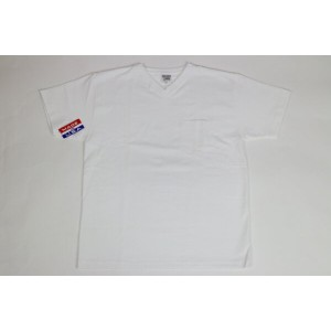 CAMBERMAX WEIGHT POCKET S/S TEE WHITE(キャンバー ショート Tシャツ 半袖 Vネック)