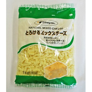 QBB とろけるMIXチーズ (CT) 1kg 冷蔵品