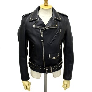正規取扱店 SCHOTT(ショット)xHTC 613US VINTAGE ONESTAR RIDERS JACKET BLACK